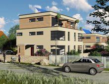 Einfamilien-Doppelhäuser